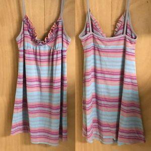 4/25$🔥 XHILARATION Cute Stripes Sleeping Chemise